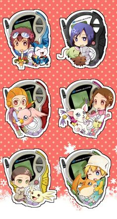 Digimon Adventure 02 chibi charakter Cyber Sleuth, Digimon Seasons, Manga, Digimon Wallpaper, Gatomon, Digimon Adventure 02, Pokemon Craft, Digimon Frontier, Digimon Digital Monsters