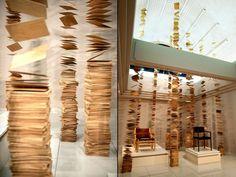 Nen-Rin Installation by Kazunori Matsumura, Asahikawa – Japan » Retail Design…