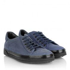 Tod's Sneakers – Cassetta UV Allacciata Blu Chiaro – in blau, schwarz – Sneakers für Damen