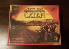 The Settlers of Catan Board Game 3061 Klaus Teuber Mayfair Games #mayfair