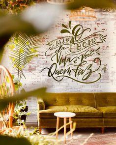 """413 curtidas, 0 comentários - DESIGNER MARCUS FILHO (@marcusfilhodesigner) no Instagram: """"Pare de lamentar quando vc tem o poder de dar a volta por cima!!! . . . . . #designgrafico #design…"""" Instagram, Propagation, Home Decor, Ideas, Environment, Buen Dia, Places, Decoration Home, Room Decor"""