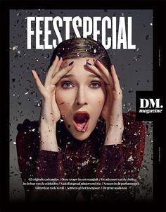 Magazine Wall - De Morgen DM magazine (Bruxelles / Brussel,...