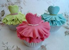 These Princess Cupcakes are pretty as a picture and easy to make once you know how. Your guests will love them!