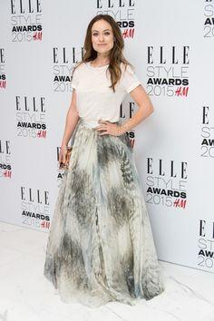 a big skirt.
