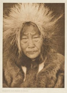 An elderly Inuit man, Cape Prince of Wales, Alaska, Native American Tribes, American Indians, Native Americans, Inuit People, Walk In The Spirit, Goddess Of The Sea, Inuit Art, American Spirit, Prince Of Wales
