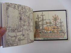 Return of the Bump, Moleskine Feb-May 2011 by Mattias Adolfsson, via Behance