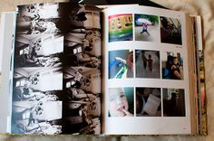 Make a yearbook from all your digital photos - great idea and am going to do this