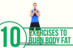 10 Body-Fat Burning Moves