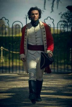 Aidan Turner as Ross -what did I say about a man in uniform......?