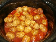365 Days of Slow Cooking: Day 154: Barbeque Meatballs
