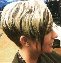 Chic Short Haircut for Women