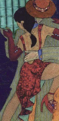 Penny Feder - Tango Night II - art prints and posters