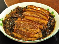 Hakka food - marinated pork