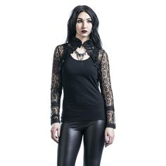 Gothicana by EMP  Bolero  »Goth Lace Bolero« | Buy now at EMP | More Gothic  Boleros  available online ✓ Unbeatable prices!