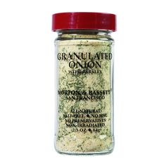 Morton And Bassett Seasoning Onion With Parsley Granulated 2.3 Oz Case Of 3