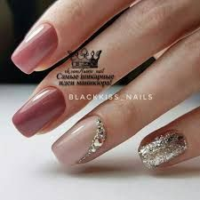 You should stay updated with latest nail art designs, nail colors, acrylic nails, coffin… - coffin Hair And Nails, My Nails, Fall Nails, Spring Nails, New Nail Designs, Nails 2018, Round Nails, Manicure E Pedicure, Glitter Manicure