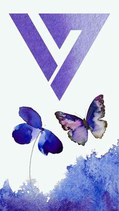 Seventeen Logo Violet