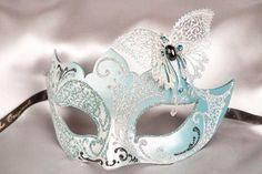 Light blue mask