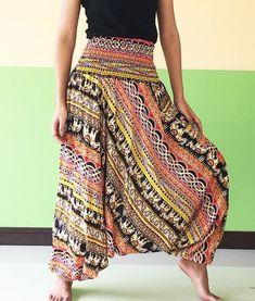 Harem Pants – *Plus Unisex Rayon Harem pants Yoga jumpsuits* – a unique product by smileshop on DaWanda #yogajumpsuit