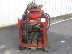 Standard Equipement tire-plomb pour pelle hydraulique 4 disponibles occasion ref 64113