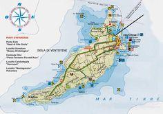 DESCRIZIONE DI VENTOTENE - viaggi vacanze e turismo fai da te, itinerari, fotografie: diariovacanze.it