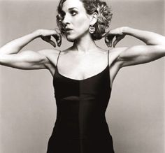 Sarah Jessica Parker, photographed by Norman Jean Roy Sarah Jessica Parker Body, Body Inspiration, Fitness Inspiration, Grace Beauty, Toned Arms, Jillian Michaels, Sweat It Out, Big Muscles, Carrie Bradshaw