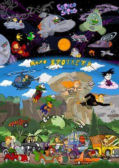 Painel de divulgação: Sapo Brothers! – Sapo Brothers - Um jeito verde de ser