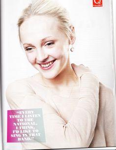 Laura Marling in Q Magazine.