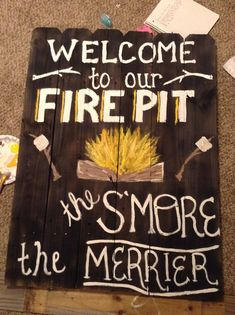 firepit signs - Google Search