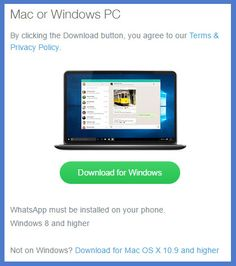 WhatsApp Desktop App for Windows and Mac Released - Download and How To Use http://www.techtolead.com/whatsapp-desktop-app-for-windows-and-mac-released/3915/