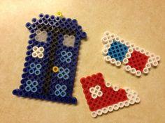 Doctor Who Perler Beads by Nikole Lane