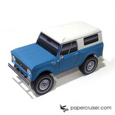 IH Scout 80 | http://papercruiser.com/?wpsc-product=international-scout-80800