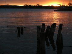 Lake Trasimeno in the autumn