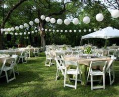 decoracion para 15 años al aire libre con globos (3)