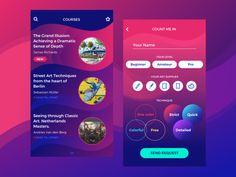 Art Courses App