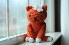 bethsco blog: Crochet Kitty free pattern