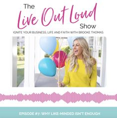 If you're spending time with 'like-minded individuals' as the experts suggest, but it's not feeding your soul the way you'd hoped, it's time to build a community around something a little deeper. ❤️  On today's episode of the Live Out Loud Show, I'm diving deeper into the reasons why so many successful women feel lonely and isolated 😣.  There is value in being around people who share similar experiences or a similar point of view, but the fact is, we're 𝐌𝐎𝐑𝐄 than our careers or our skills.
