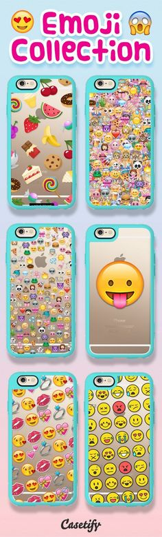 Talk emoji to me! Shop these emoji cases on our website now! https://www.casetify.com/search?keyword=emoji | @casetify #phonecase