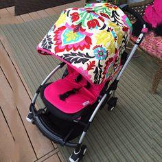 Bugaboo Bee Plus sun canopy . Bugaboo Cameleon by NiKABabyBoutique Bugaboo Bee, Bugaboo Cameleon, Sew Baby, Baby Sewing, Sun Canopy, Kids Wardrobe, Prams, Baby Strollers, Little Girls