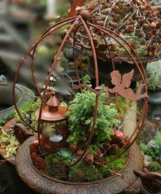 Jern i haven og krukkerne
