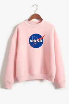 About NASA Sweatshirt sweatshirt is Made To Order, we print the sweatshirt one by one so we can control the quality. Trendy Hoodies, Cute Sweatshirts, Grunge Outfits, Trendy Outfits, Cute Outfits, Nasa Hoodie, Nasa Clothes, Trendy Swimwear, Kawaii Clothes