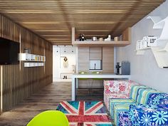 Apartment Storage Ideas With Improvement Color