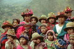 Peru Los rostros de un pueblo con una gran herencia histórica.