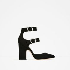Image 2 of BUCKLED HIGH HEEL SHOES from Zara