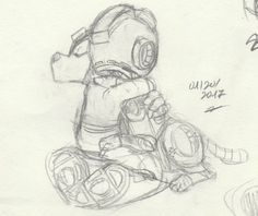 NO SHOULDER TO CRY ON A DOG this is so cute Mega Man Rush Megaman fan art others' art sketch