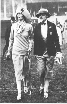 comment les hommes et les femmes s'habillaient en 1920
