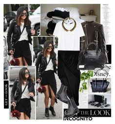"""""""Get the Look: Kylie Jenner"""" by dora04 ❤ liked on Polyvore featuring Balenciaga, T By Alexander Wang, Helmut by Helmut Lang, Chanel, Pull&Bear, Giuseppe Zanotti, GetTheLook, KylieJenner and incognitocelebstyle"""