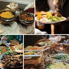 Wedding Reception Buffet Ideas