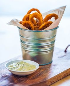 Crisp onion rings uienringen