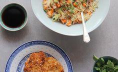 Trendy chicken recipes for dinner rice veggies ideas Chicken Recipes Healthy Oven, Ranch Chicken Recipes, Healthy Pastas, Coriander Chicken Recipe, Chicken Spices, Roast Chicken, Riced Veggies, Veggie Fries, Dinner Recipes